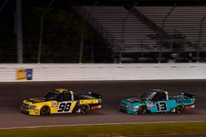 Grant Enfinger, ThorSport Racing, Ford F-150 Champion Power Equipment, Myatt Snider, ThorSport Racing, Ford F-150 Tenda Heal