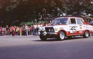 35 Rajd Polski 1975, Krzysztof Komornicki, Janusz Wojtyna, Fiat 125p Monte Carlo 1600