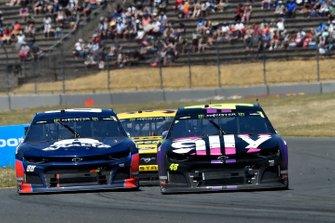 Alex Bowman, Hendrick Motorsports, Chevrolet Camaro Axalta, Jimmie Johnson, Hendrick Motorsports, Chevrolet Camaro Ally