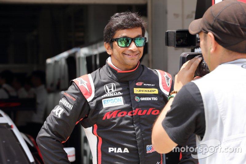 #64 Nakajima Racing Honda NSX-GT: Narain Karthikeyan