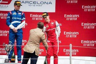 Podium: third place Marcus Armstrong, PREMA Racing