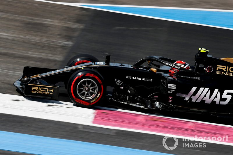 15: Kevin Magnussen, Haas F1 Team VF-19, 1'31.440