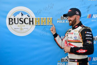 Austin Dillon wins the pole for the Camping World 400, Richard Childress Racing, Chevrolet Camaro Dow Univar Solutions