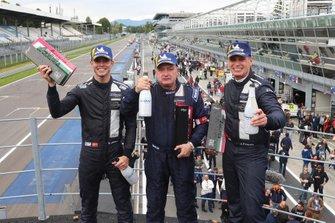 Podium P3: #11 Eurointernational Ligier JS P3 Nissan: Mikkel Jensen, Jens Petersen