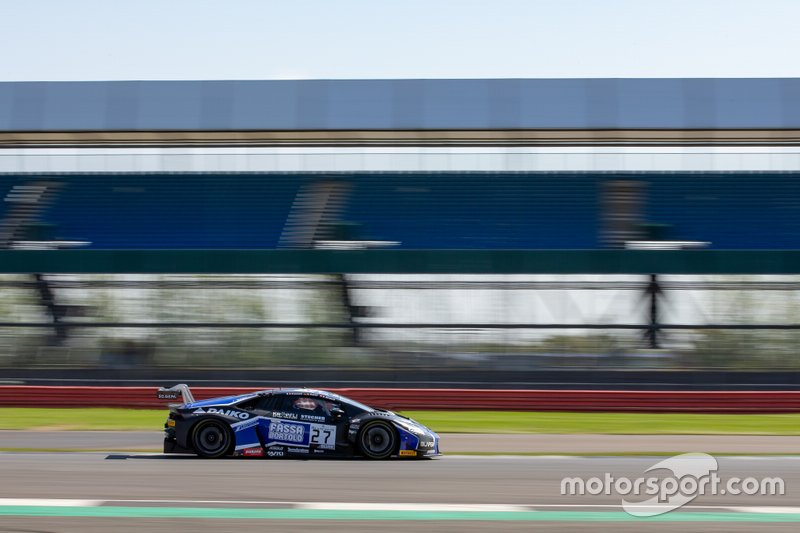 #27 Daiko Lazarus Racing Lamborghini Huracan GT3: Kris Richard, Nicholas Pohler, Fabrizio Crestani