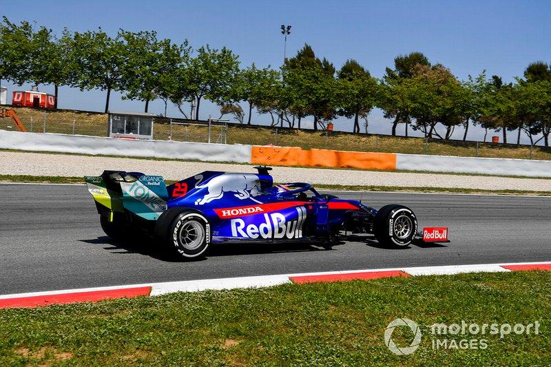 Alexander Albon, Toro Rosso STR14