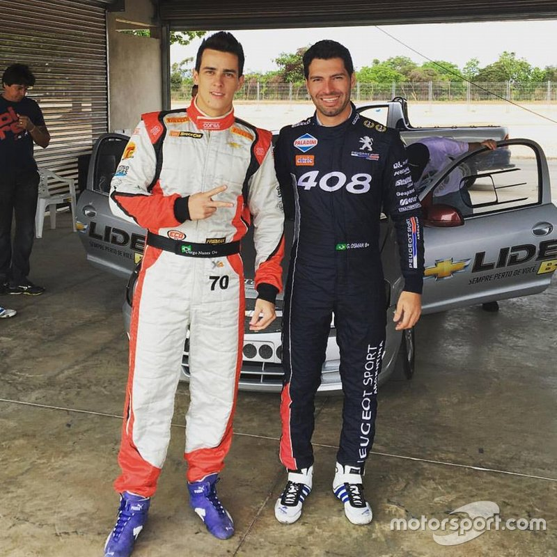 Galid Osman e Diego Nunes