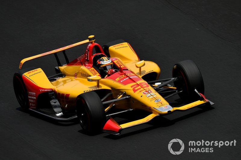 22. Ryan Hunter-Reay, Andretti Autosport Honda