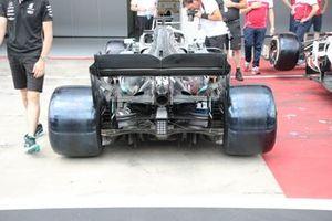Mercedes F1 AMG W10, rear