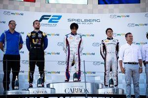 Nobuharu Matsushita, Carlin Luca Ghiotto, UNI Virtuosi Racing e Nyck De Vries, ART Grand Prix