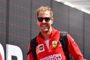 sSebastian Vettel, Ferrari
