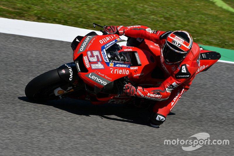Michelle Pirro, Ducati Team - 1 caídas (wildcard)
