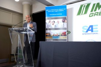 Conferencia de prensa de IMSA Green. Director Ejecutivo de IMSA Scott Atherton, EPA, SAE, Smartway