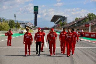 Ознакомление с трассой: Шарль Леклер, Ferrari