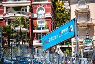 Monaco ePrix signs
