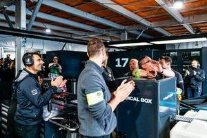 HWA Racelab monteurs