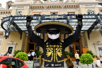 Mario Achi, Mexican GP Promoter outside the Casino Monte-Carlo