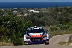 Corrado Fontana, Nicola Arena, Hyundai i20 WRC. Bluthunder