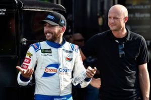 Ross Chastain, Premium Motorsports, Chevrolet Camaro Cross Country Adjusting and Josh Wise