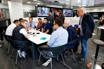 Andreas Seidl, Team Principal, McLaren and Zak Brown, Executive Director, McLaren, hold a Press Conference