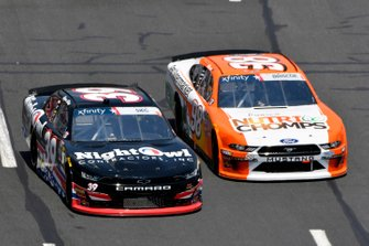 Ryan Sieg, RSS Racing, Chevrolet Camaro Anglin Builders LLC and Chase Briscoe, Stewart-Haas Racing, Ford Mustang Nutri Chomps/Pet Supermarket