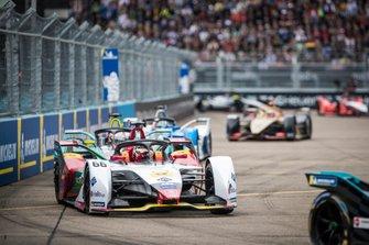Daniel Abt, Audi Sport ABT Schaeffler, Audi e-tron FE05, Alex Lynn, Panasonic Jaguar Racing, Jaguar I-Type 3