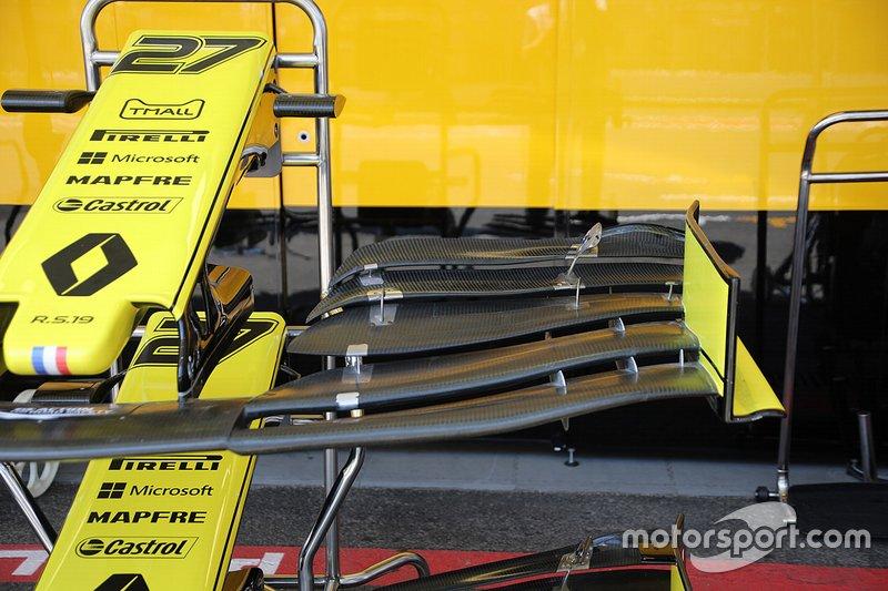 Detalle técnico del Renault F1 Team