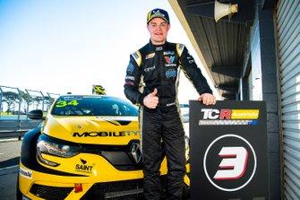 Third place James Moffat, Garry Rogers Motorsport Renault Megane R.S
