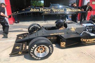 Carrocería del Lotus 97T de Ayrton Senna.