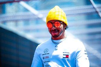 Lewis Hamilton, Mercedes AMG Team