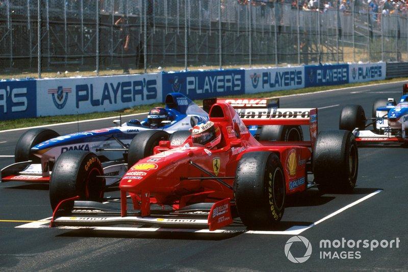 1997年:ミハエル・シューマッハー(フェラーリ)