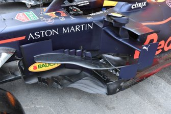 Bargeboard laterale della Red Bull Racing RB15