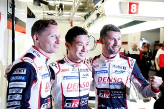 Pole sitter #7 Toyota Gazoo Racing Toyota TS050: Mike Conway, Kamui Kobayashi, Jose Maria Lopez