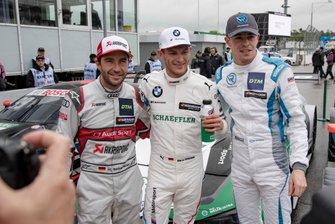 Mike Rockenfeller, Audi Sport Team Phoenix , Marco Wittmann, BMW Team RMG, Paul Di Resta, R-Motorsport