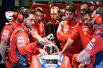 Совещание команды Ducati Team