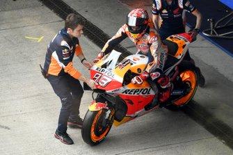 Marc Marquez, Repsol Honda Team in de pitlane