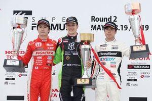 全日本F3第5戦表彰台