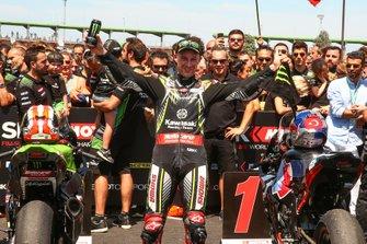 Race winner Jonathan Rea, Kawasaki Racing Team