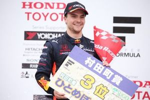 Podium: third place Lucas Auer, B-Max Racing Team