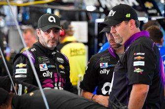 Jimmie Johnson, Hendrick Motorsports, mit Kevin Meendering
