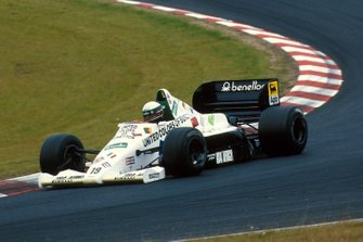 Teo Fabi (ITA) Toleman TG185, DNF. German Grand Prix, Nurburgring, 4 August 1985