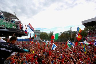 Siegerehrung beim GP Italien 2018 in Monza