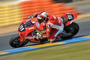 #111 Honda: Sébastien Gimbert, Yonny Hernandez, Randy de Puniet