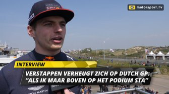 Max Verstappen interview Jumbo Racedagen 2019