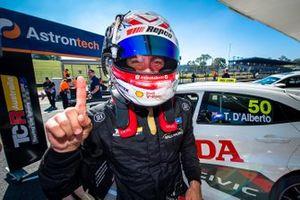 Polesitter Tony D'Alberto, Wall Racing Honda Civic Type R