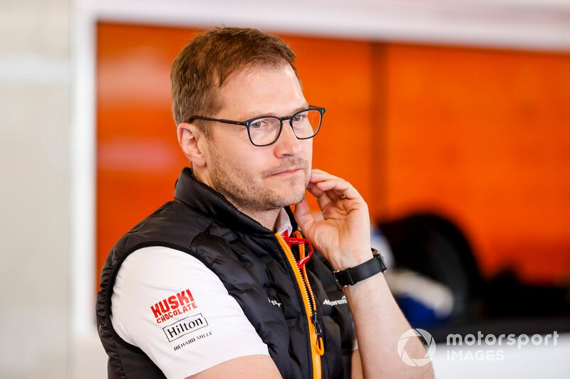 Andreas Seidl, Team Principal McLaren