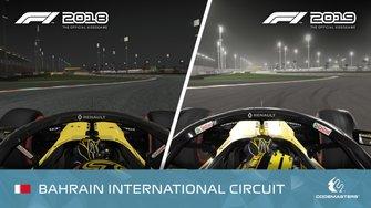 Videojuego F1 2018 vs. F1 2019