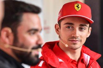 Charles Leclerc, Ferrari at Shell House