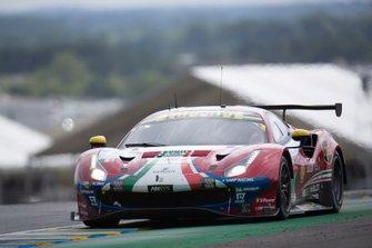 #71 AF Corse, Ferrari 488 GTE: Sam Bird, Davide Rigon, Miguel Molina