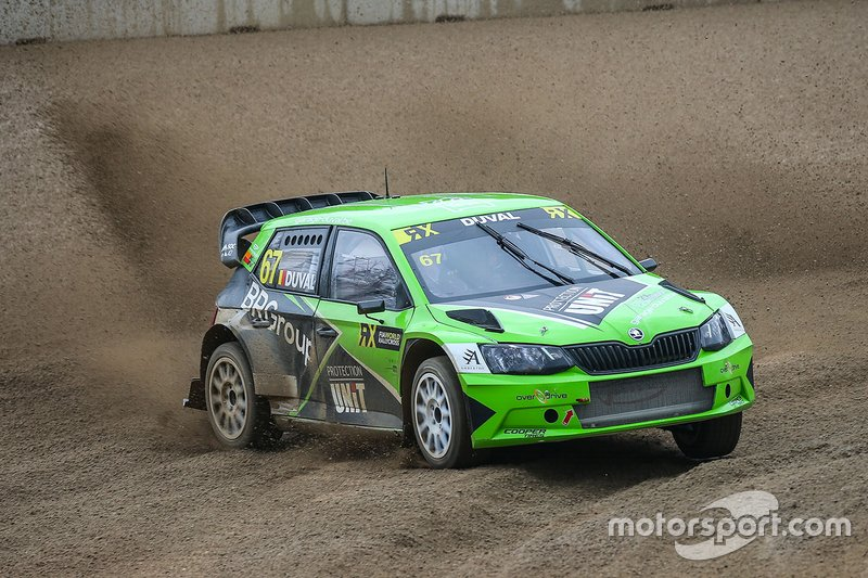 Франсуа Дюваль, ES Motorsport, Škoda Fabia WRX